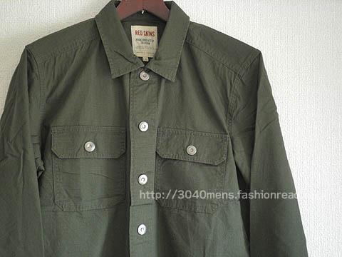ワーク系シャツジャケット