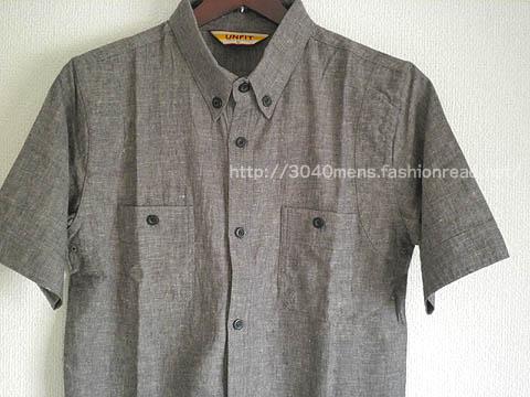 綿麻カジュアルシャツ