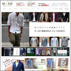 MASHのトップページ